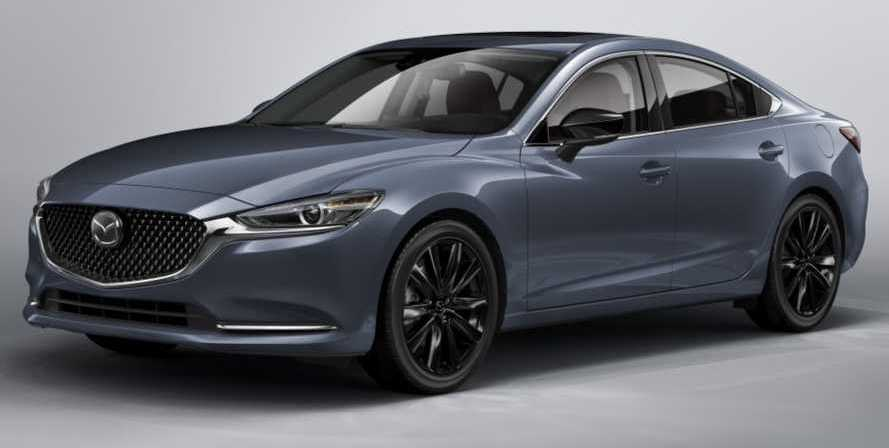 2021 Mazda6 Gets Torquier And A Carbon Edition