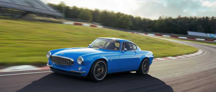 Volvo P1800 Cyan Marks Return Of A Classic Coupe, Now With 413 HP