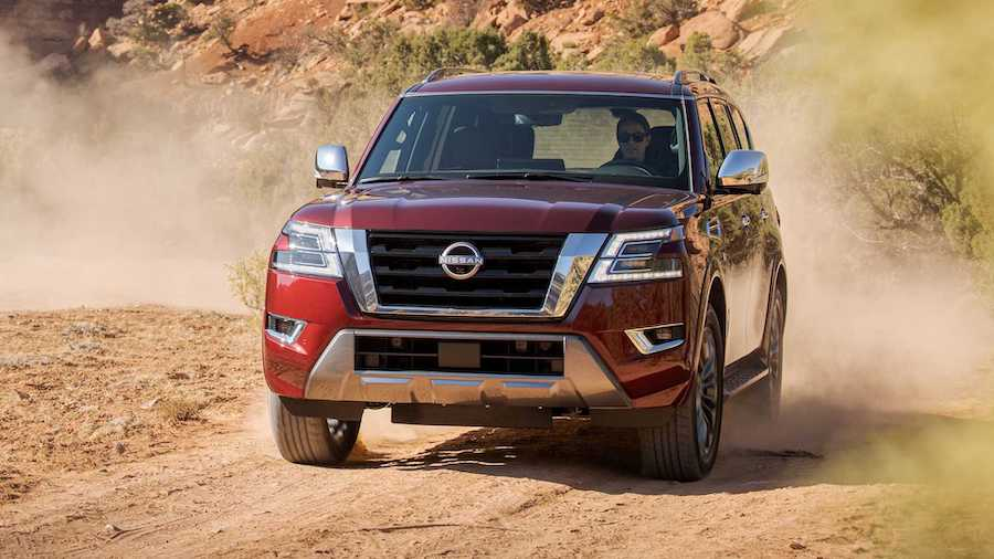 2021 Nissan Armada Debuts With A New Face, Lots Of Tech Upgrades