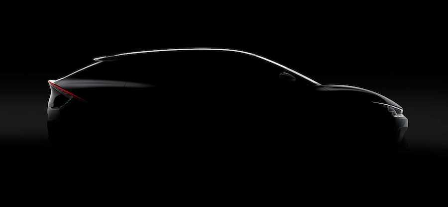 2022 Kia EV6 Teased With Interesting Design And Fancy Lights