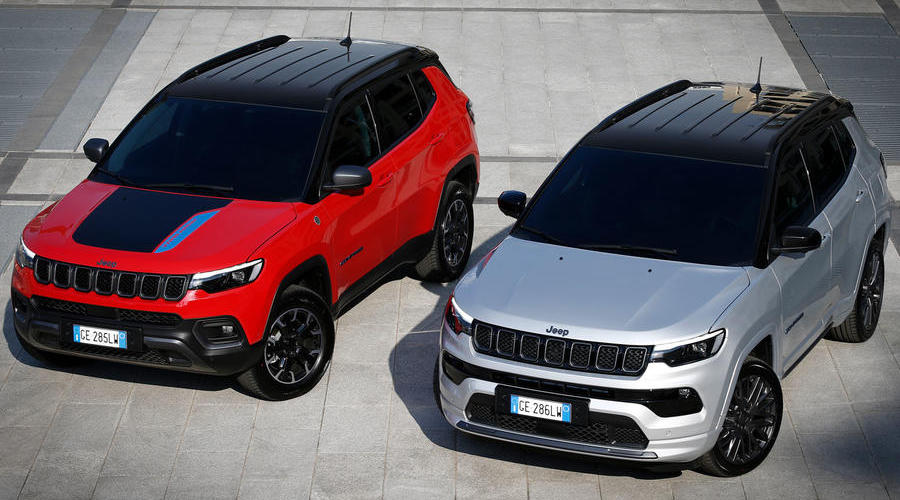 2021 Jeep Compass refreshed with new look and updated interior