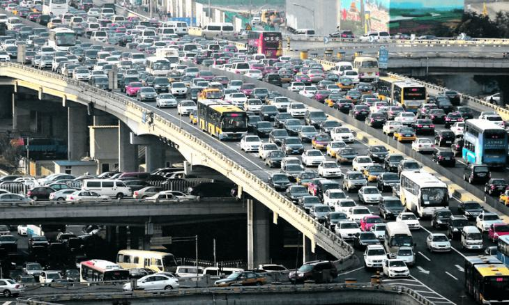 Traffic in the cities