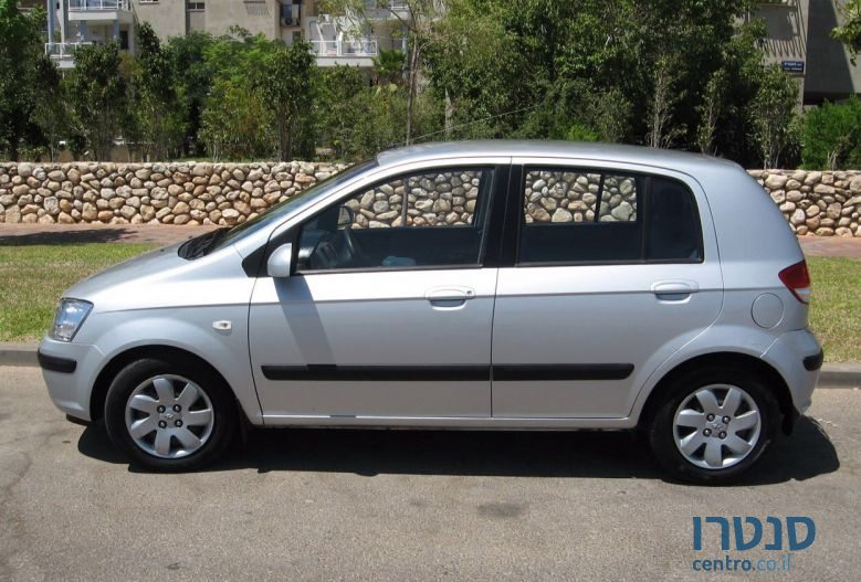2006 39 hyundai getz for sale 13 500 rishon lezion israel. Black Bedroom Furniture Sets. Home Design Ideas