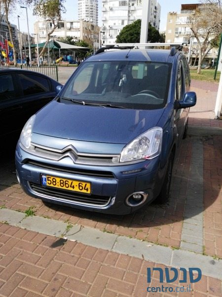 2014 Citroen Berlingo בבת ים, ישראל