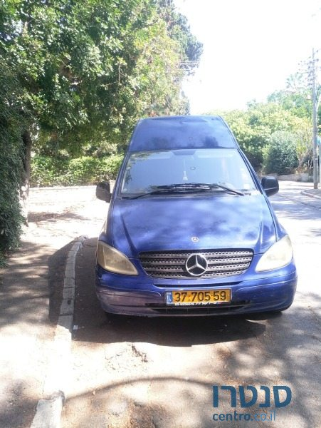 2005 Mercedes-Benz Vito in Lod, Israel