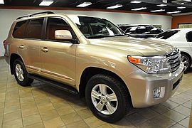 2013' Toyota Land Cruiser