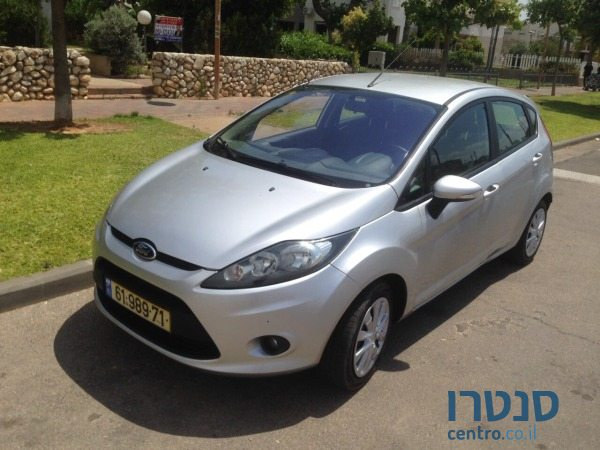 2011 39 ford fiesta for sale 31 500 holon israel. Black Bedroom Furniture Sets. Home Design Ideas