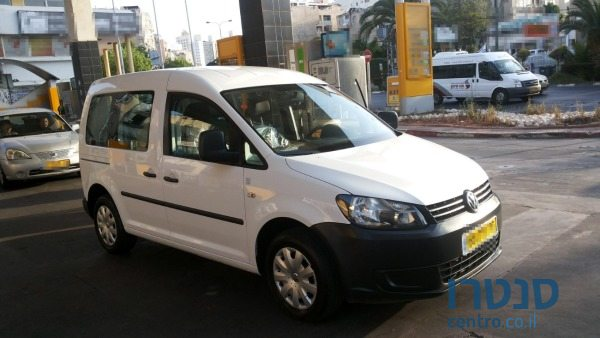 2012 Volkswagen Caddy בלוד, ישראל