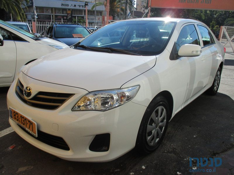 2013 Toyota Corolla For Sale ₪57 000 יבגני Petah