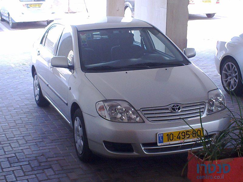 2006 Toyota Corolla For Sale ₪22 000 Илья Lod Israel